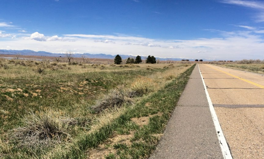 Road Through Cherry Creek Park