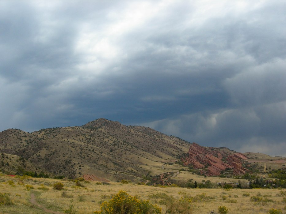 Red Rocks on Front Range