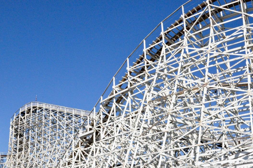 Criss Cross of a Roller Coaster