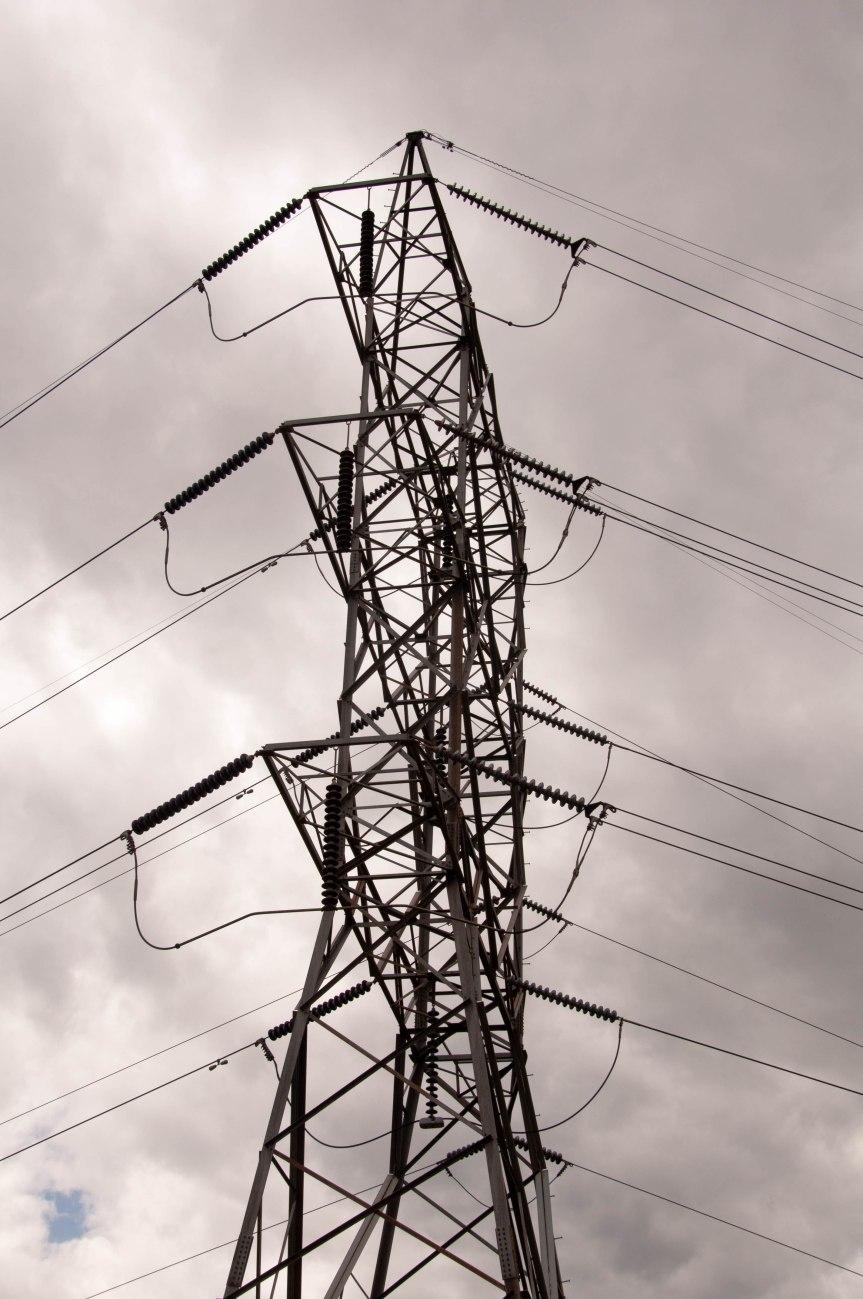 Lattice Tower Against Sky