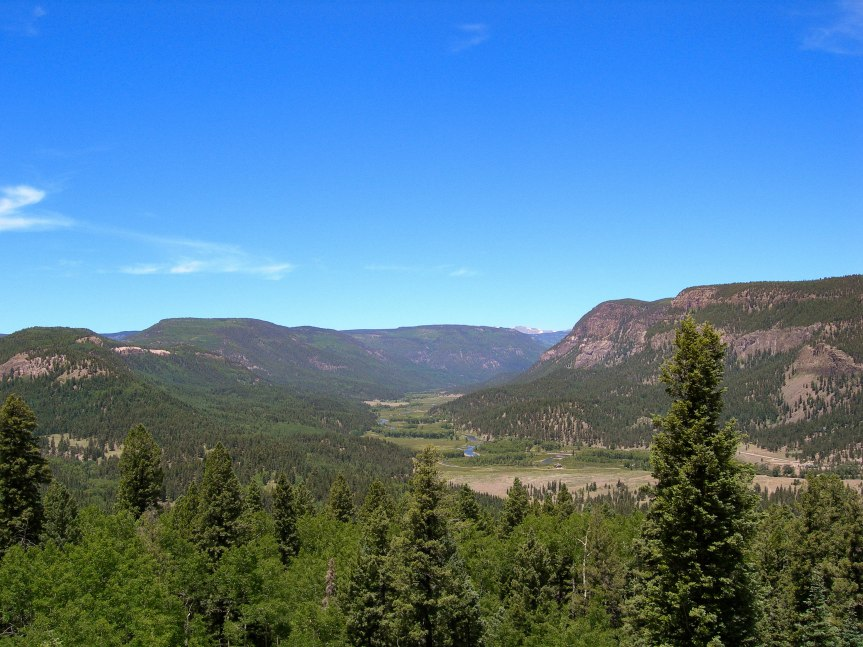 Southern Colorado, on the Road to Chama, New Mexico