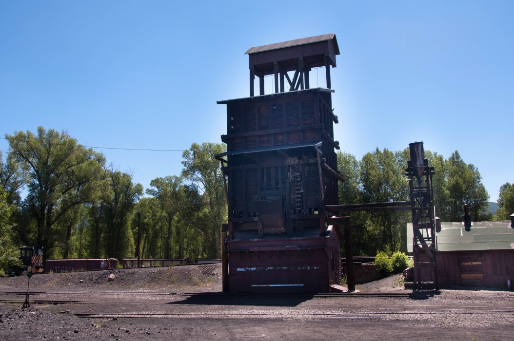 Coal Tower in Chama