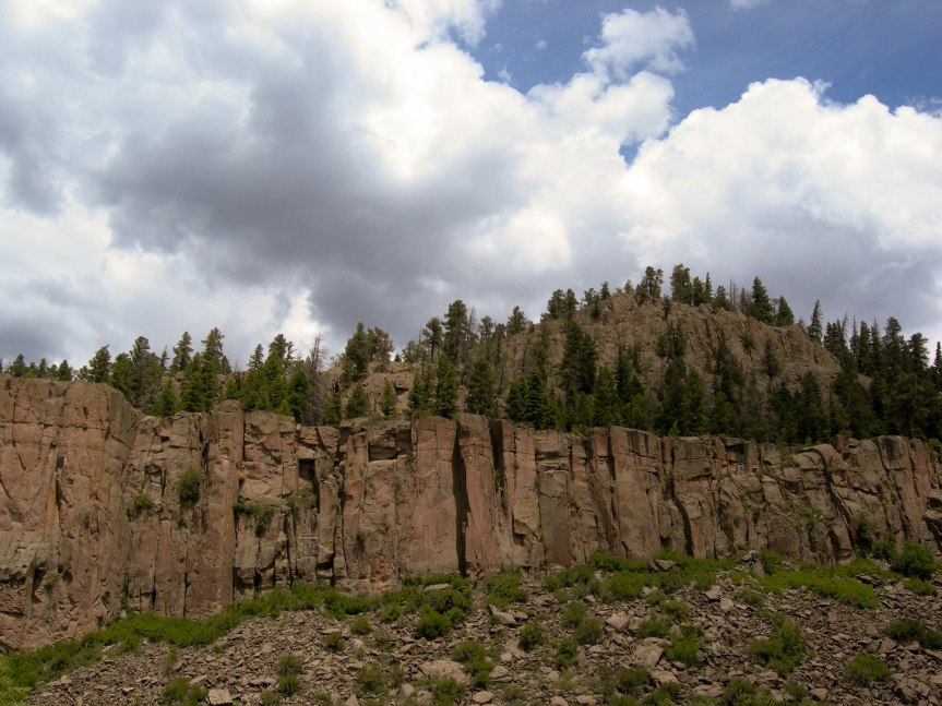 Rock Wall, Southern Colorado