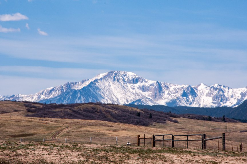 Pikes Peak from Greenland, CO
