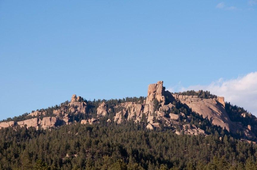 A Rocky Backdrop to a Favorite Bike Trail
