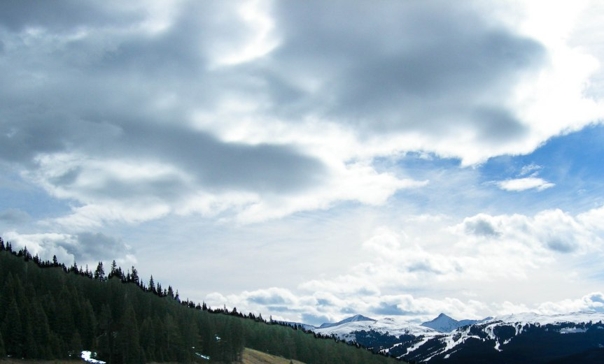 Looking East from Vail Pass