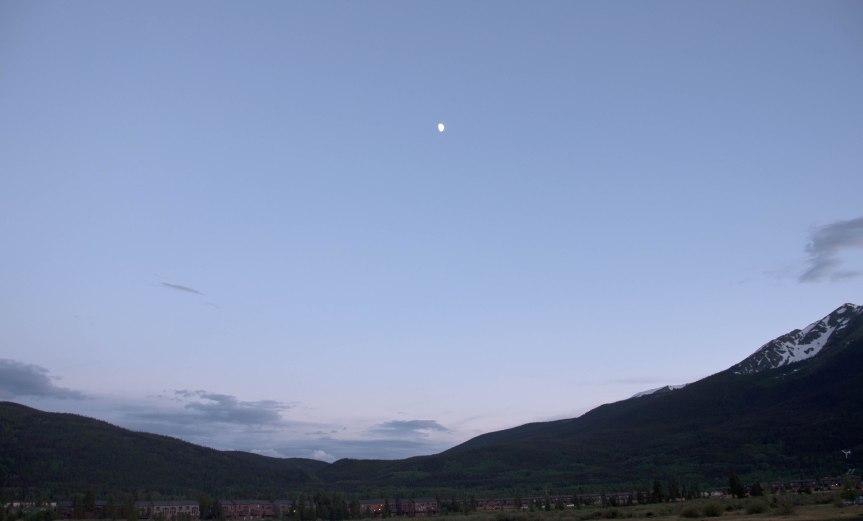 Moon Over Frisco, Colorado