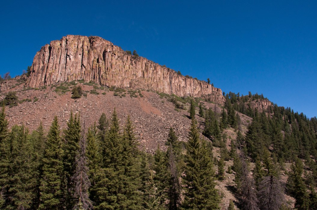 Along the Road from Gunnison to Lake City, Colorado