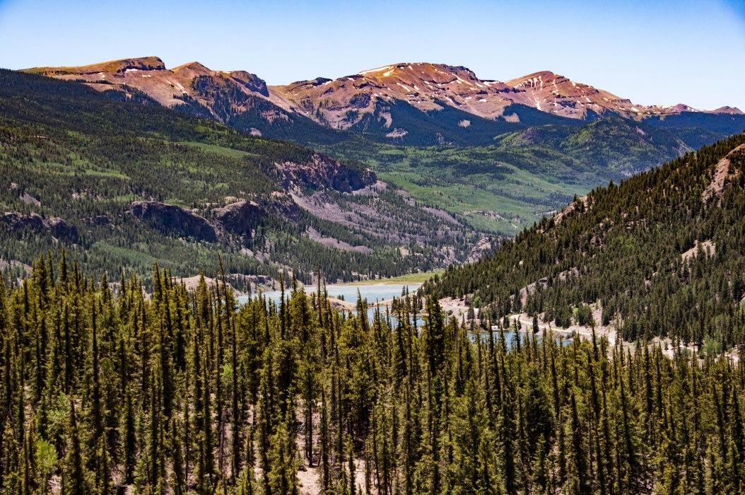 Lake San Cristobal & Mountains - Colorado