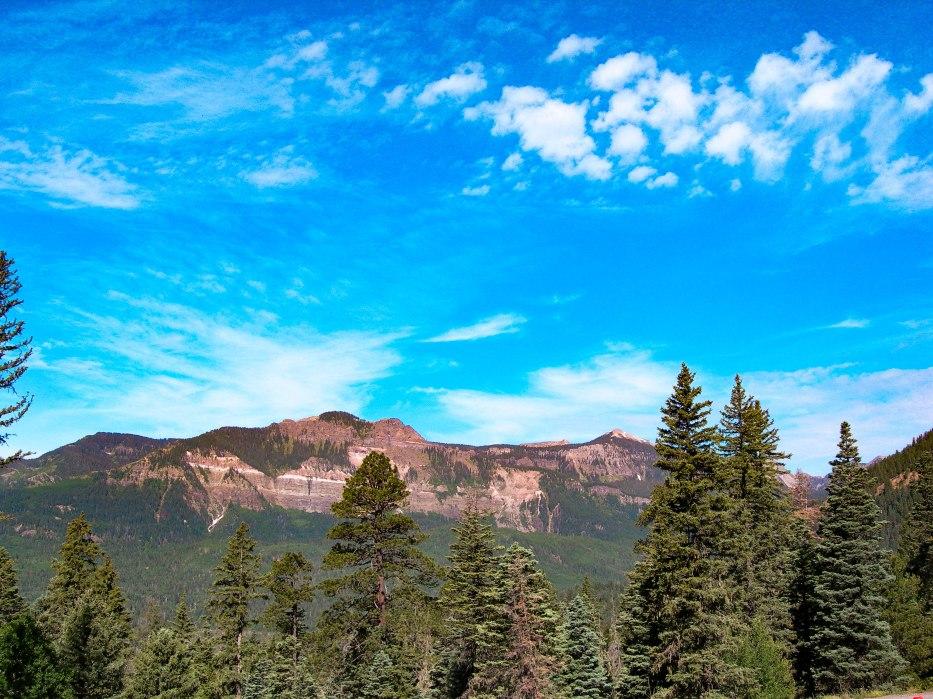 Saddle Mountain - near Wolf Creek Pass, Colorado