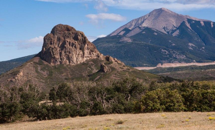 Geologic Formations near La Veta, Colorado
