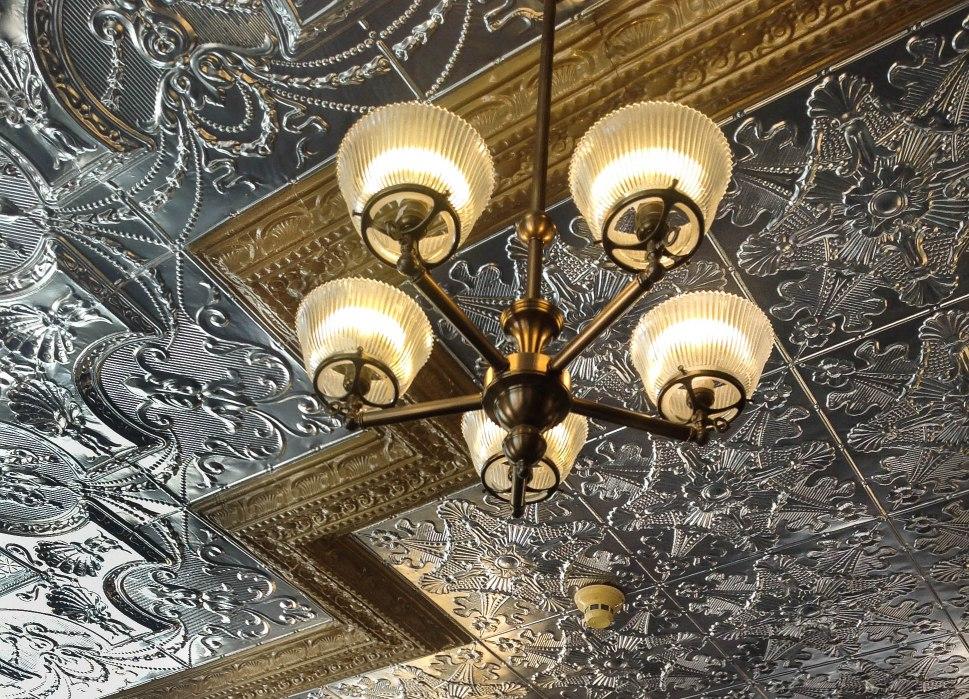 Ceiling of Rural Coffee Shop