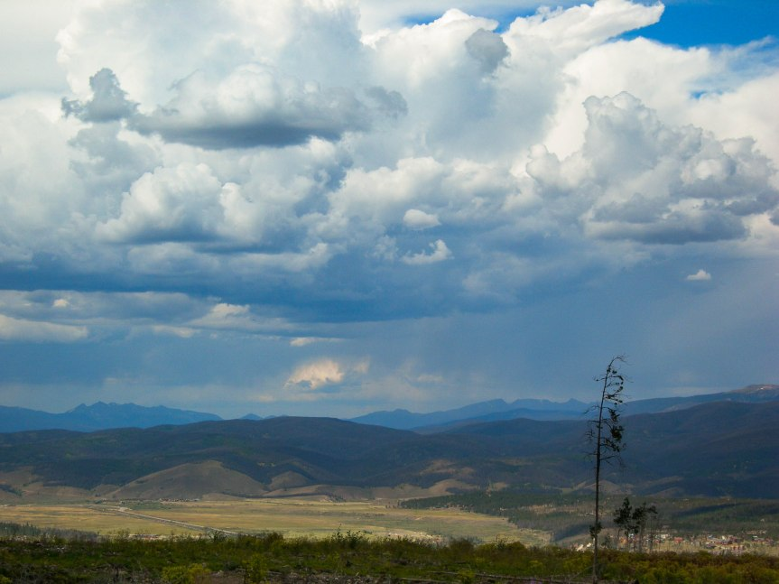Clouds Over Fraser Valley