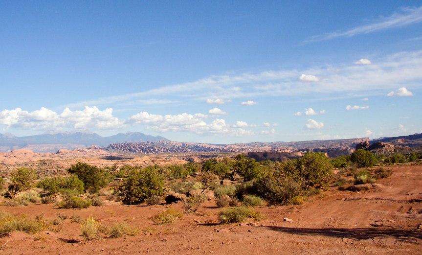 Plains near Moab, Utah
