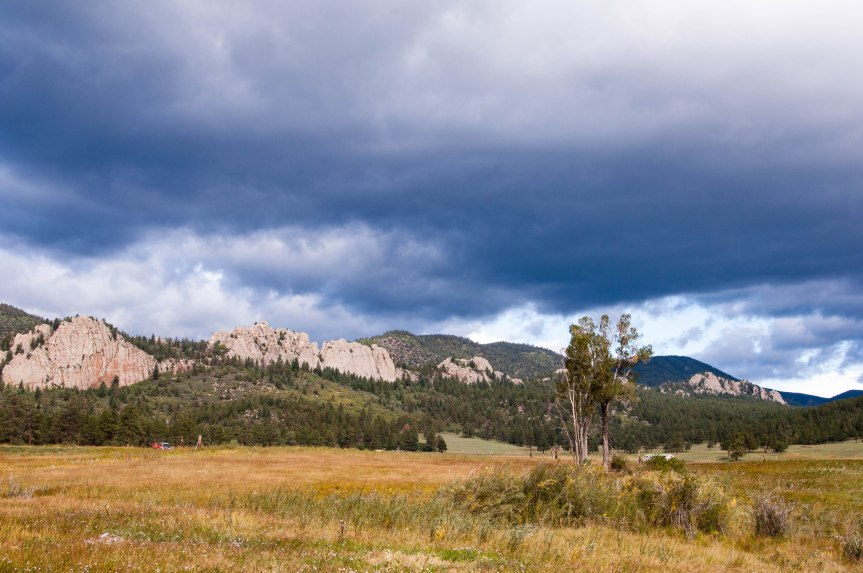 Another View of Stone Wall @ Stone Wall, Colorado