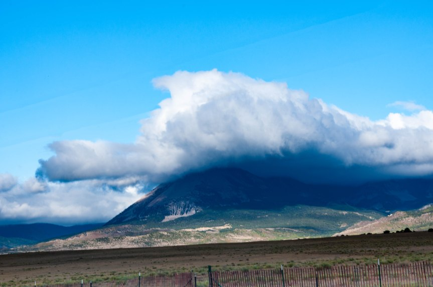 Cloud Covered Mountain