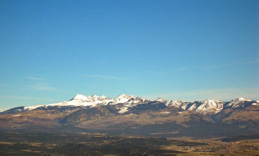 View from Mesa Verde, Colorado