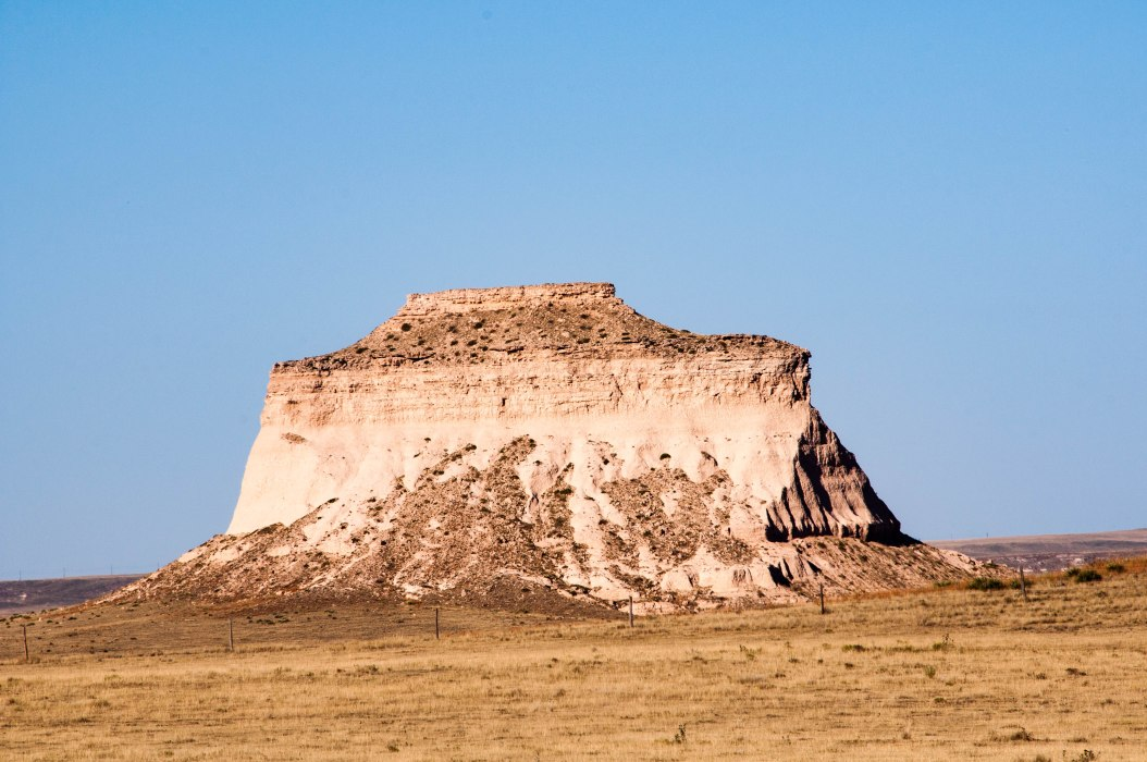 One of Pawnee Buttes