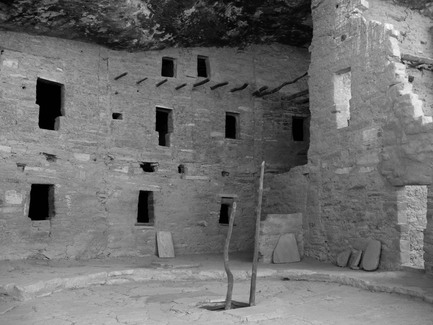 Pueblo at Mesa Verde, Colorado