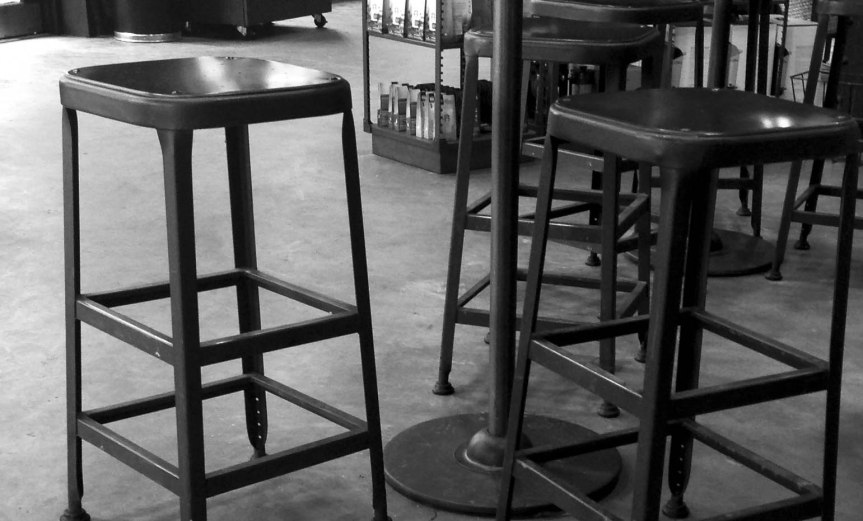 Coffee Shop (B&W)
