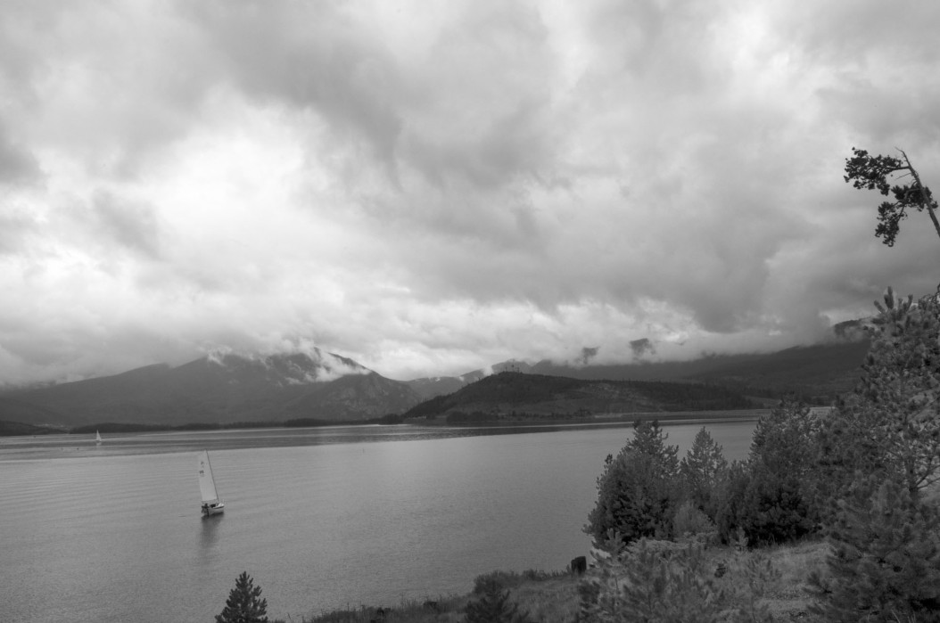 Mountain Lake (B&W)