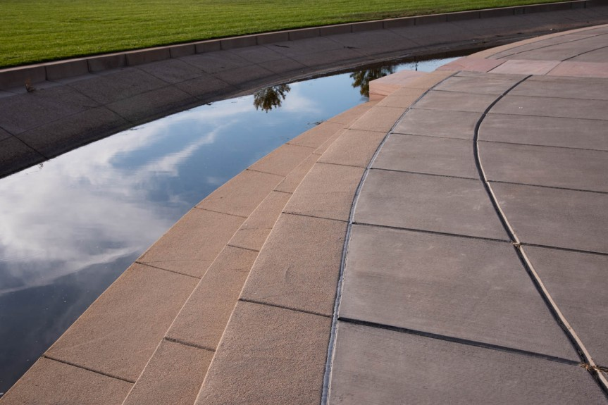Reflective Arc in Park