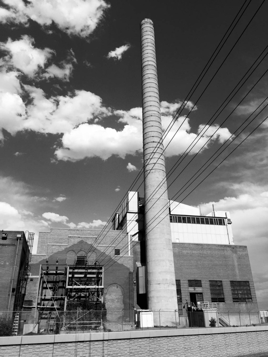 Smoke Stack (B&W)