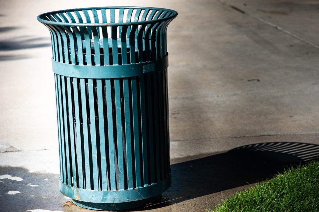 Park Trash Bin